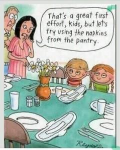 Behulpzame kinderen...